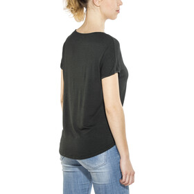 Royal Robbins Noe Cap Sleeve Tee Women Jet Black